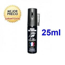 SPRAY DEFENSA DE GAS CS GEL DE 25ML PARA USO INTERIOR Y EXTERIOR